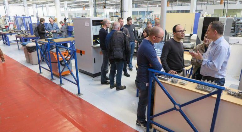 Formation technicien maintenance industrielle
